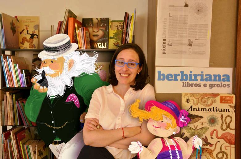 Cristina Corral, autora de De paseo con Crunia, guía de viaje infantil de A Coruña