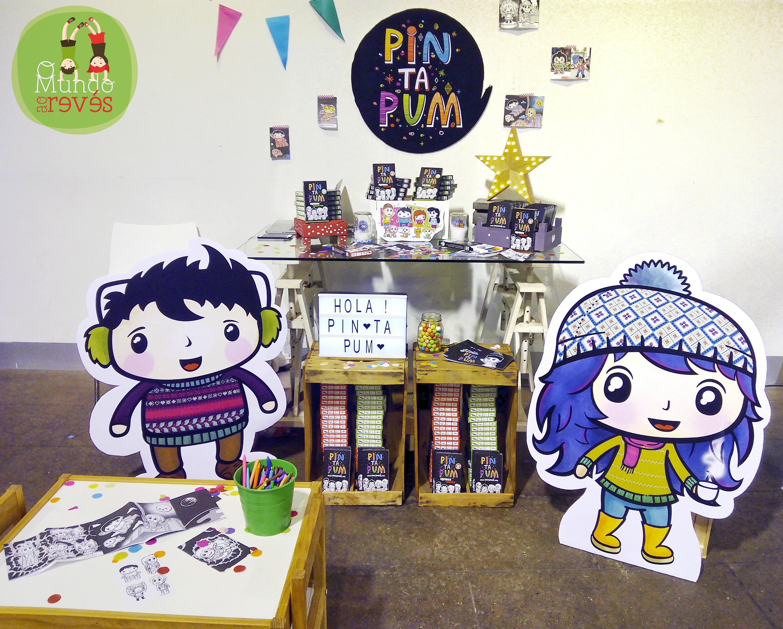 Pintapum, minibox para niños