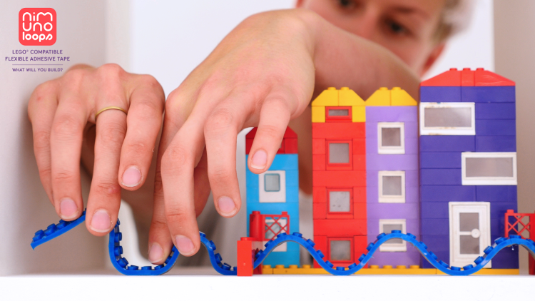 Nimuno, cinta de juego adhesiva flexible