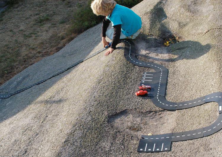 Carreteras de juguete flexibles