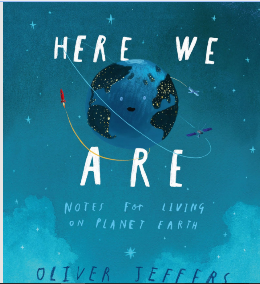here we are, de Oliver Jeffers